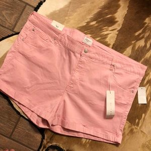 🆕listing. Size 24w pink shorts